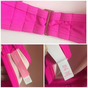 c9990c37a4 Victoria's Secret Swim - Victoria's Secret Swim The Wrap Halter Bikini 34D